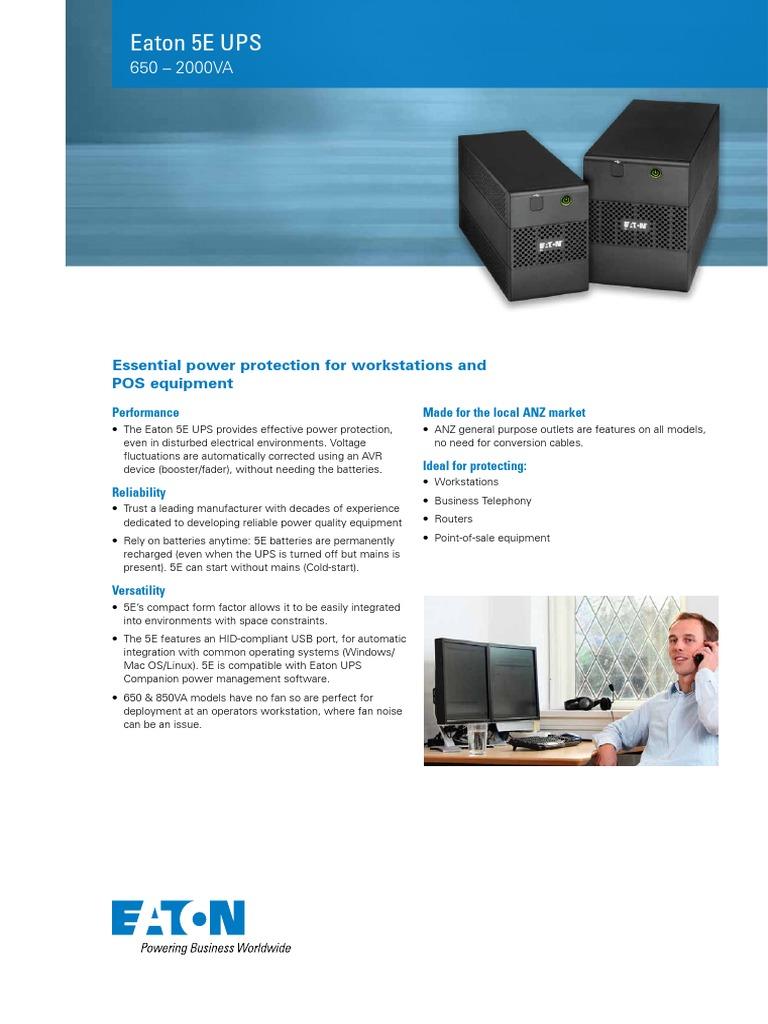 5E_UPS_broch_03b pdf   Electrical Engineering   Computer Engineering