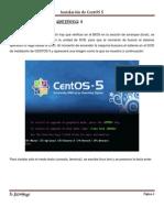 Instalacion de CentOS 5
