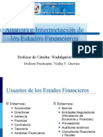 Analisis estados financiero