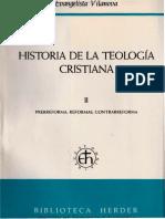 Vilanova, Evangelista 02 - Historia de La Teologia Cristiana