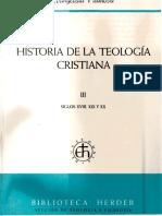 Vilanova, Evangelista 03 - Historia de La Teologia Cristiana