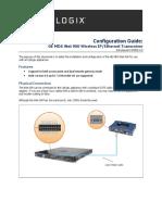 Guia y configuracion del MDS Inet900