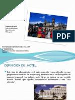 1.Definicion de Hotel y Tipos .