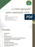 Granito Como Agregado Para Construção Civil Modificado