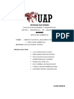 monografia educacion Ambiental