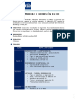 Temario Curso Modelamiento e Impresion 3d