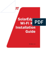 Handleiding Solaredge Wifi Communication Kit Se1000