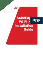 Handleiding Solaredge Wifi Communication Kit Se1000