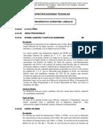 Especificaciones Tecnicas Estructuras Moduloi