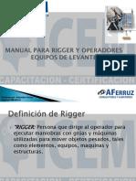 Manual Para Rigger y Operadores Equipos de Levante