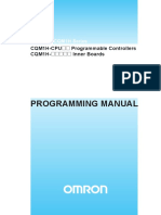 Cqm1h Series Programming Manual
