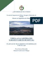 Visita a La Cantera Del Naranco de Arcelor Mittal (Peru Ornosa y Manuel Varela)