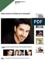¿Qué Revela La Mirada de Un Hombre_ _ Salud180