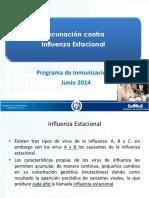 Vacunacion Contra Influenza y Sistema Inf. 27 Junio 2014 (2)