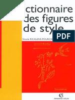 Dictionnaire Des Figures de Sty - Ricalens-Pourchot, Nicole