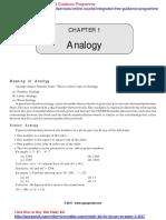 IGP CSAT Paper 2 General Mental Ability Analogy
