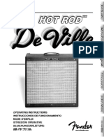 Hot Rod DeVille Manual