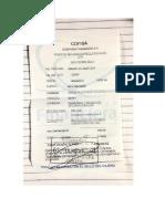 Recibo de Pago Para Reposicion de Examen Josue Caceres.