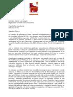 Carta a Luis Almagro Cumbre Lima Peru 21 de Marzo Del 2018