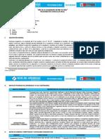 Programación Anual de Comunicación Con Las Rutas de Aprendizaje_Tercero