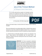 2017 Trivium Method Logic Summary Cliff Notes Printer Friendly