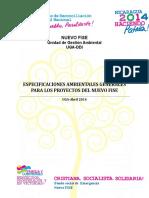 ESPECIFICACIONES AMBIENTALES GENERALES NUEVO FISE.doc