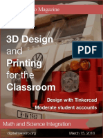 3D Desing and Printing for the Classroom