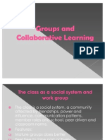 Groups and Collaborative Learning