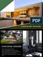 Casa Glass Pavilion Ficha Tecnica