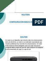 Configuracion Basica de Routers