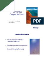 Deepwater Cementing Present