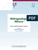 "8º Curso a distancia ""Hidrogeología Minera"" (2018 – 2019)"