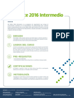 Ms Excel 2016 Intermedio