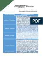 """Evidencia 3 Ejercicio Práctico """"La Mejor Estrategia Corporativa"""""""