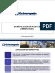 Identificacion de Pasivos Presentados Por Osinergmin a La Oefa-2011-2012