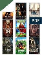Lista de Peliculas 2016