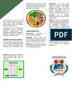 Que Es La Alimentación Saludable y Cuáles Son Sus Características