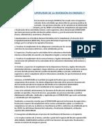 El Organismo Supervisor de La Inversión en Energía y Minería (Transferencia de Funciones a Oefa)