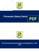 Fireworks Safety Seminar 2017