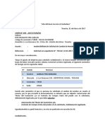 Carta de Inadmisibilidad de Rith M. Pipa Guillén