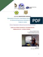 Programa Curso Sobre Pericia Caligrafica y Dcumentoscopia Criminalistica en La Pericia Forense Icpfu 2018