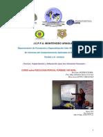 Programa Curso Psicologo Perito Forense Icpfu 2018 Nivel Inicial