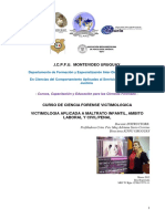 Programa Curso Victomologia Forense Icpfu Julio 2016 Ok