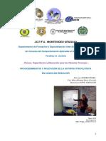 Programa Autopsia Psic en Casos Criminales Sin Resolver Icpfu 2016