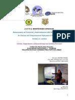 Programa Curso de Psicologia Policial y Tecnicas Psicoproyectivas Para Evaluacion Porte de Armas 2017