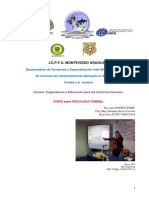 Programa Curso Psic.criminológica y Perfil Criminal Icpfu 2018
