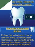 Transformarea Dinților. Metode de Calcul Înrestaurările Odontale