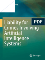 REFERENCIADO Liability for Crimes Involving Artificial Intelligence Systems