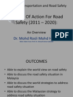 Decade of Action for Road Safety - EAL 338