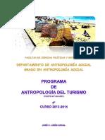 226-2014!02!14-Antropología Del Turismo. José C. Lisón